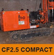 מכונת קידוח CF2.5 COMPACT