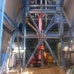 עבודת בנטונייט בתחנת כח רוטנברג אשקלון 28 מטר קוטר 80