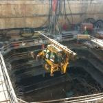 פרויקט קידוח בארות מים במרתף חניה רב קומות-עבור אל הר הנדסה