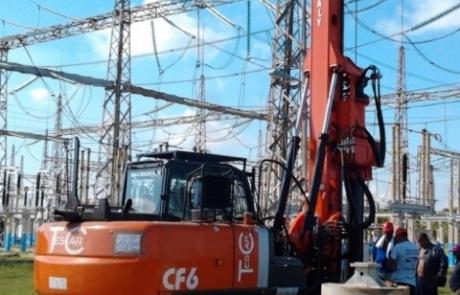 מכונת קידוח דגם CF6